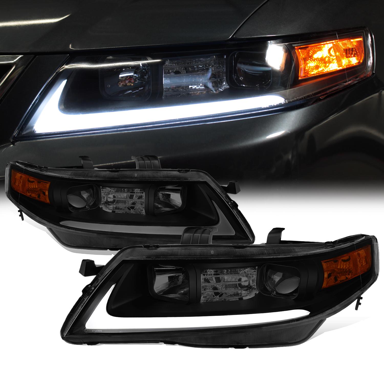 [Black Smoke] 2004 2005 2006 2007 2008 Acura TSX LED Bar